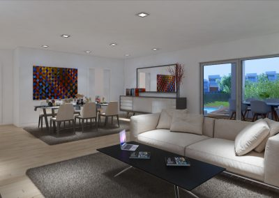 Apartamento Sala de estar