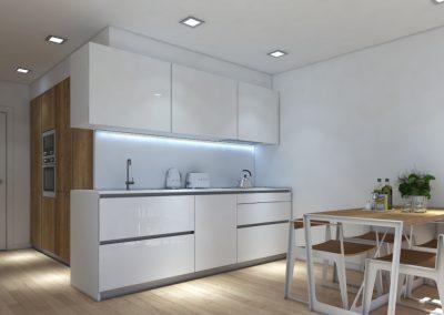 Apartamento Cozinha 3