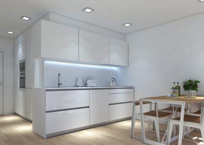 Apartamento Cozinha 4